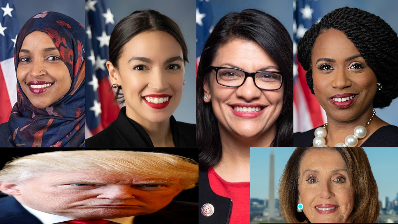 trump u2019s tweets on the squad comes to the democratic party