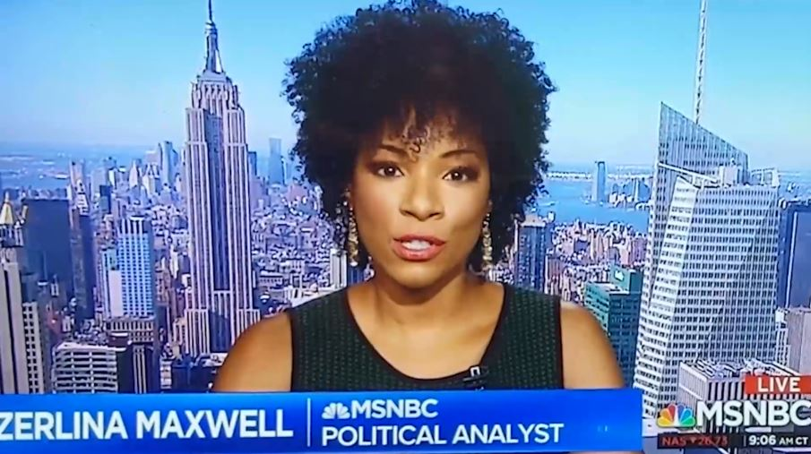 MSNBC Pundit Zerlina Maxwell shuts down the only Joe Biden groupthink
