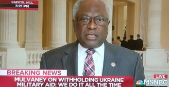 Jim Clyburn: Clear to the American People we have an outlaw in the White House.