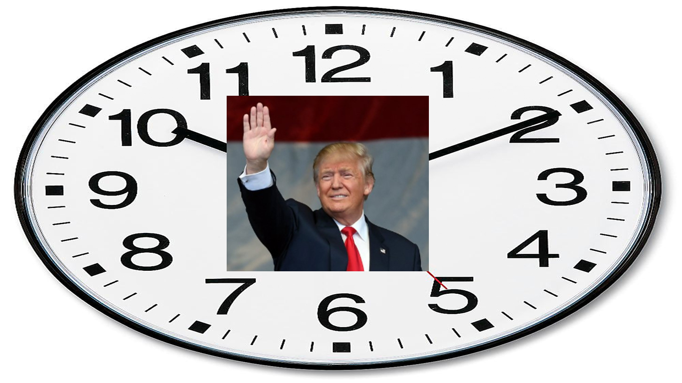 'Tick-tock,' says the Trump Corruption Clock
