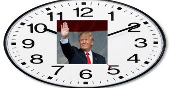 'Tick-tock,' says the Trump Corruption Clock