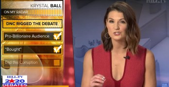 Krystal Ball outs Establishment rigged debate audience