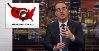 Must Watch: John Oliver destroys arguments from Medicare for All opponents.