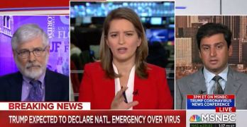 MSNBC Host expresses frustration with Private Healthcare on air
