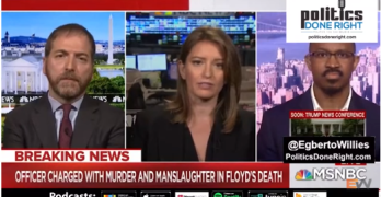 MSNBC host shocked by stats Black men's death-by-cop greater than winning Scratch-Offs.