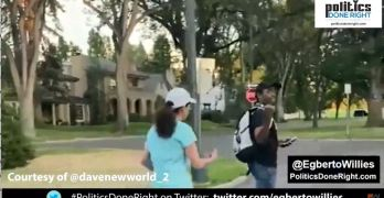 Colorado white woman follows a black man in her neighborhood - Get out of here