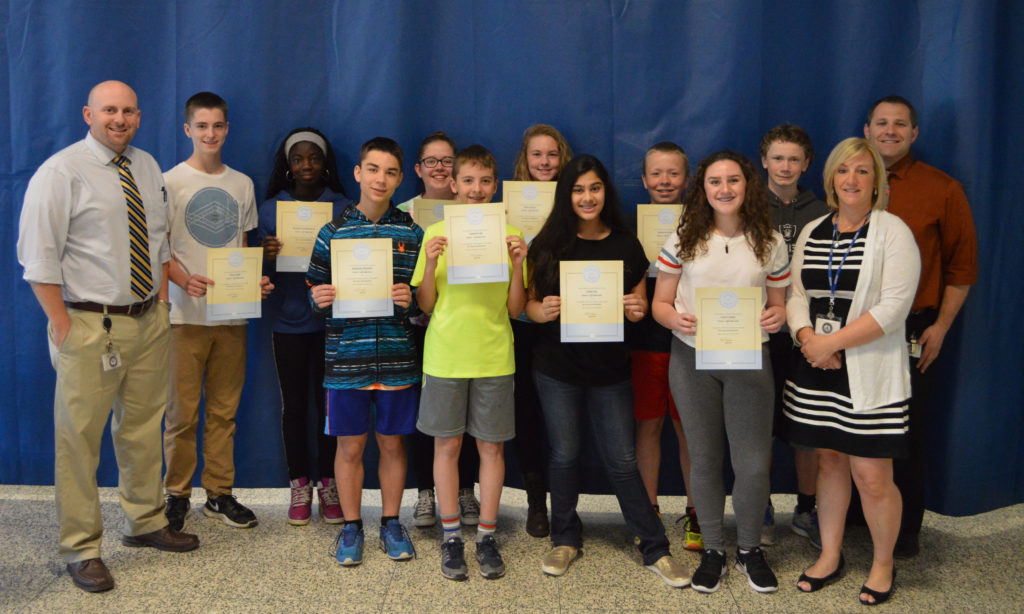 Goff Honors April Students Of The Month East Greenbush Csd