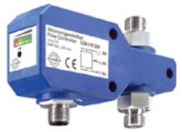 Air flow controller compact inline