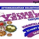 Afyon Yöresel Yemek Yarışması 2019