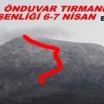 Spil Ön Duvar Tırmanış Şenliği – Manisa – 6/7 Nisan 2019