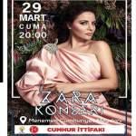 Zara İzmir Halk Konseri – 29 Mart 2019 – Ücretsiz