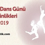 Dünya Dans Günü Etkinlikleri 2019