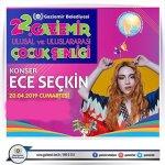 Ece Seçkin Gaziemir Konseri – 28 Nisan 2019 – Ücretsiz