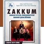 Zakkum DEÜ Konseri – 3 Mayıs 2019