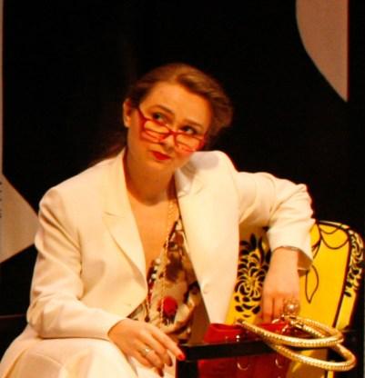 """Arsinoe"" in THE HIP HOP MISANTHROPE, Hudson Guild Theatre, Chelsea, NY"