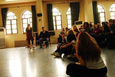 Spolin Workshop - Istanbul Conservatory