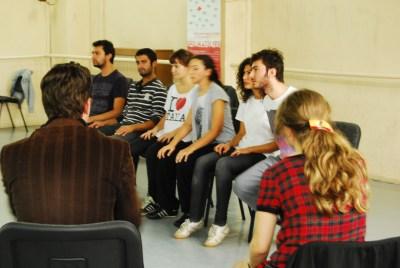 Spolin Workshop w Jason Hale @IUDK
