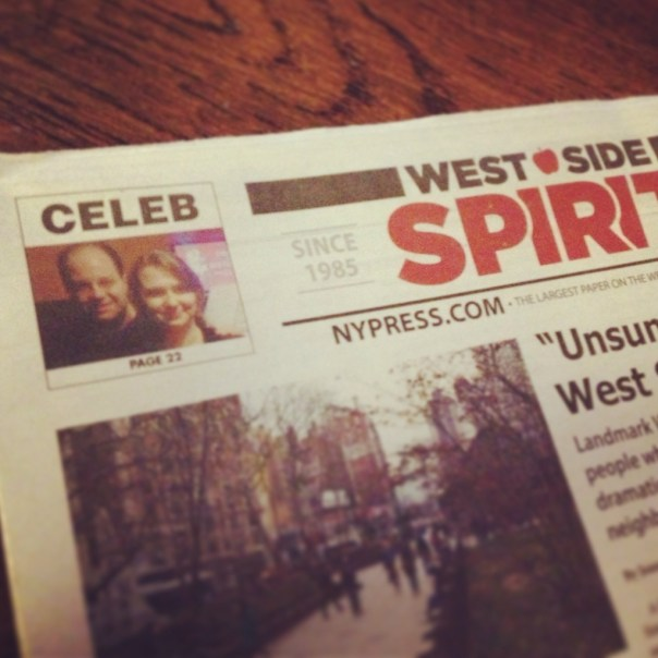 Drama in Beethoven and our story on Manhattan's local papers!