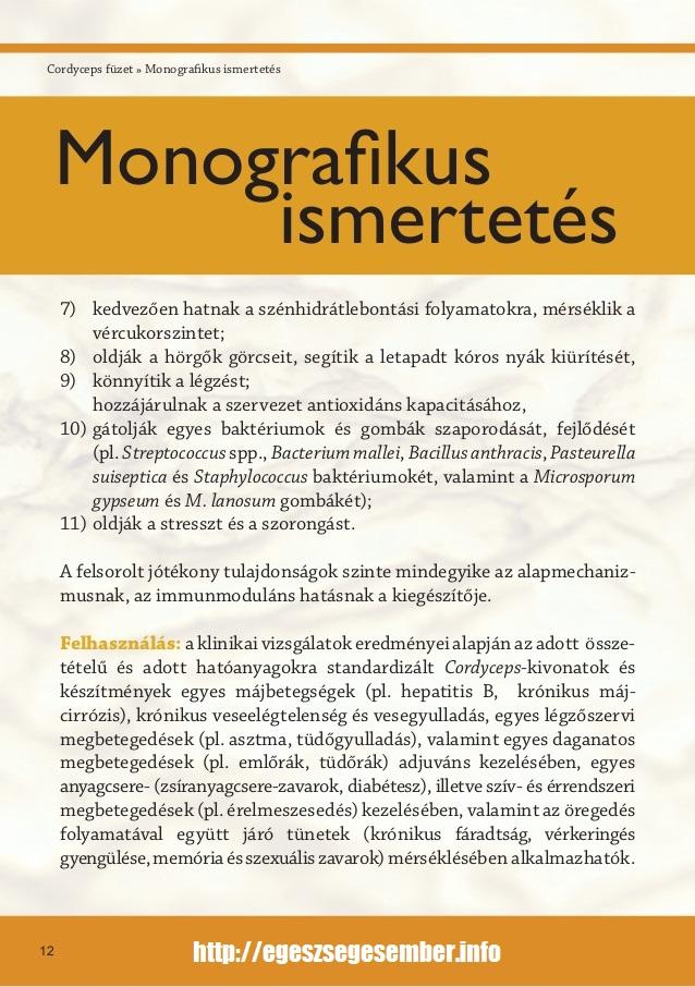cordyceps gombák