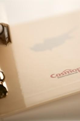 Папка на кольцах для компании Cosmopolite