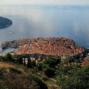 Dubrovnik view from the Cable car