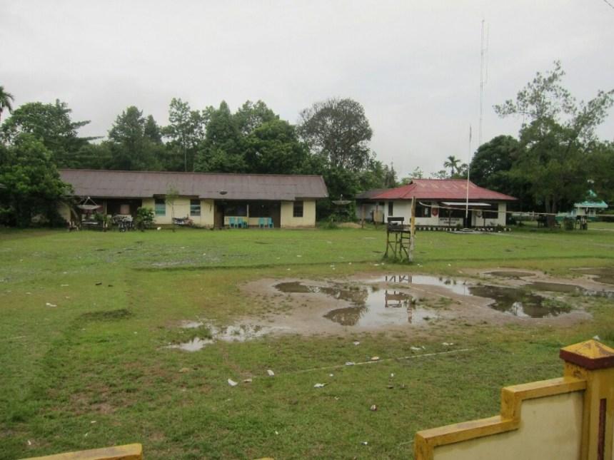 The Serawai police station