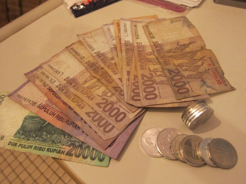 Indonesian cash money