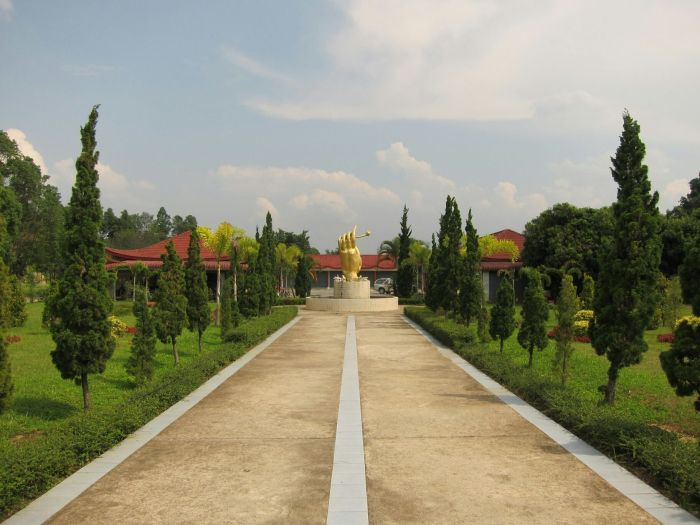The Chinese Martyrs Memorial Museum in Mae Salong
