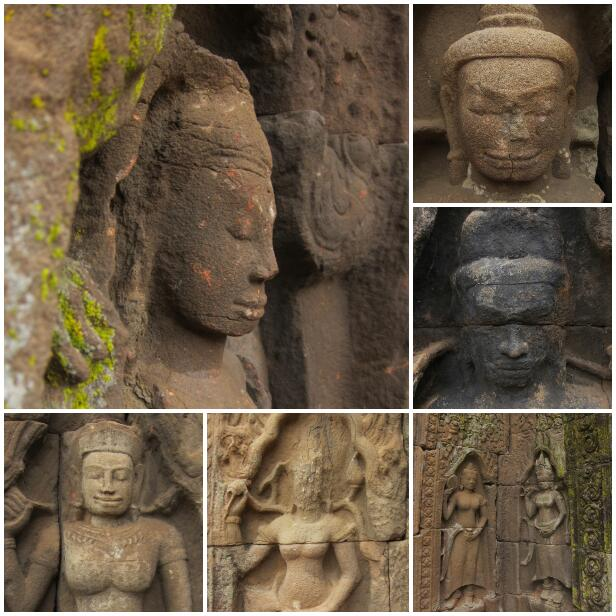 temple faces