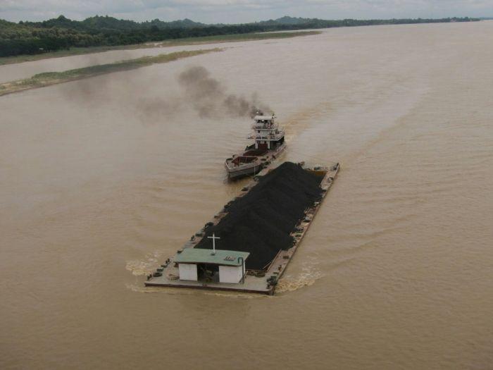 pyay from the bridge coal ship