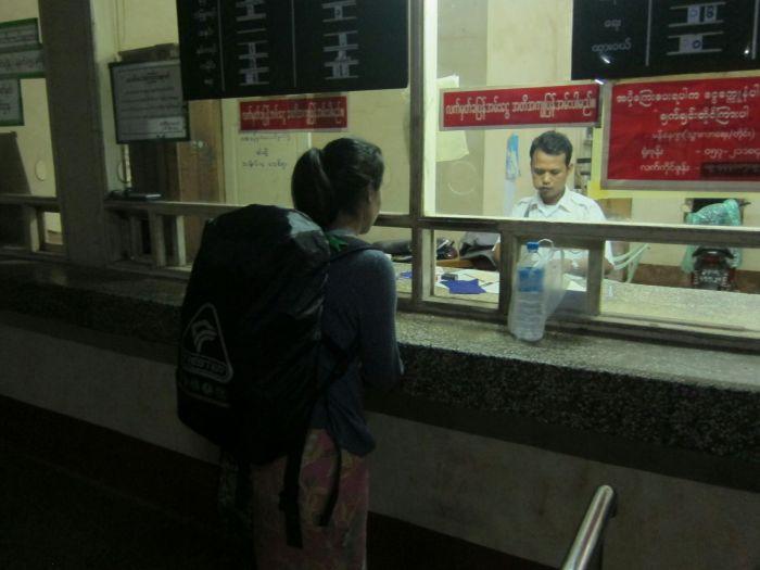 Mawlamyine station