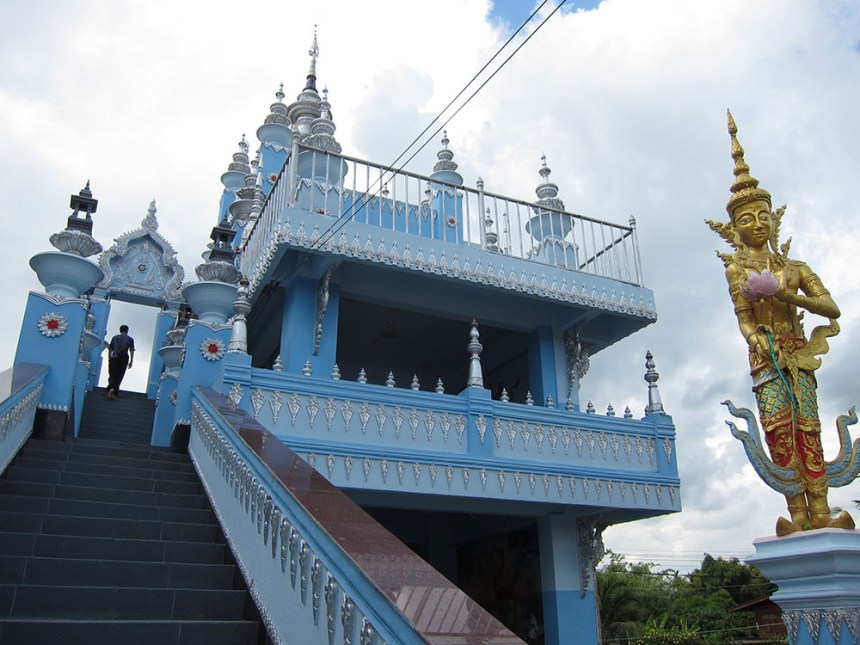 Hoitrarykharwtemple, Thailand, highway 1