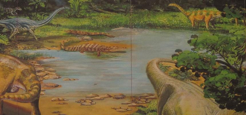 Dinosaur Kangluang Forest Park
