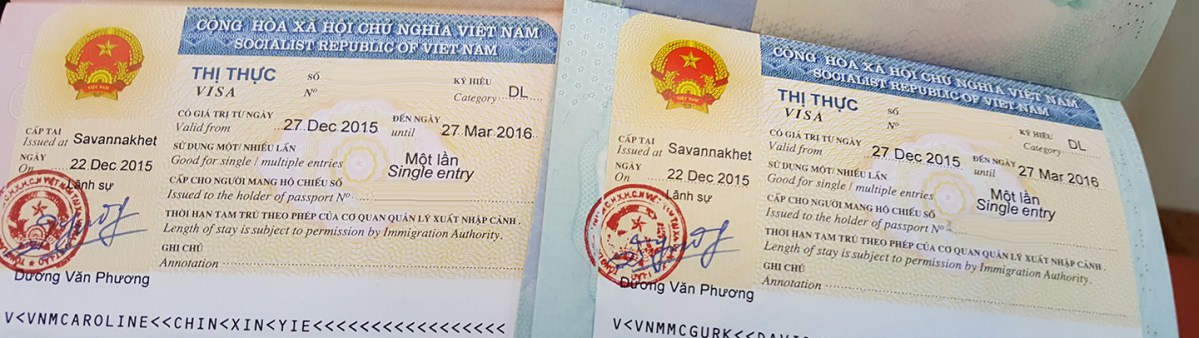 Getting a Single-Entry Visa at the Vietnamese Embassy in Savannakhet