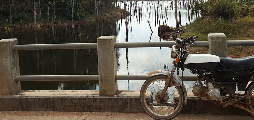 thakhek loop, laos, motorcycle, honda win