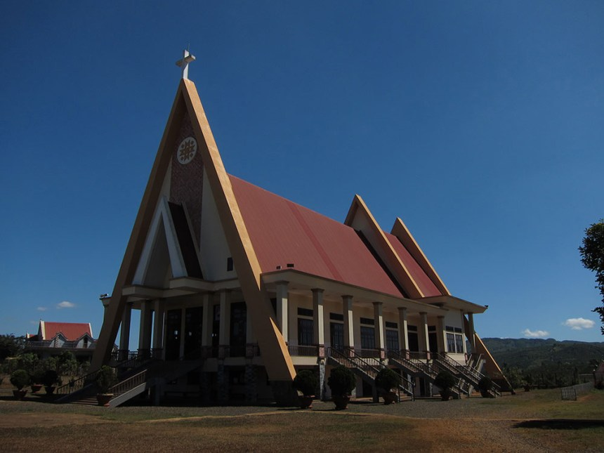 Đại Ninh, catholic church, vietnam