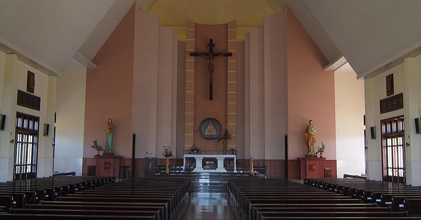 Đại Ninh, catholic church, vietnam