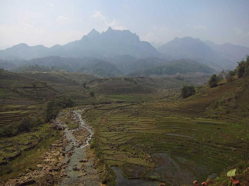 Y Ty Loop, north Vietnam, motorbike