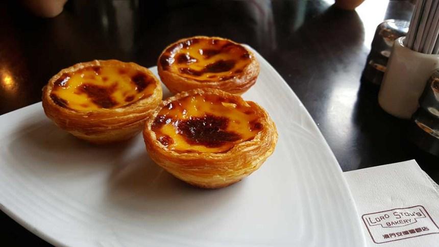 Macau egg tarts