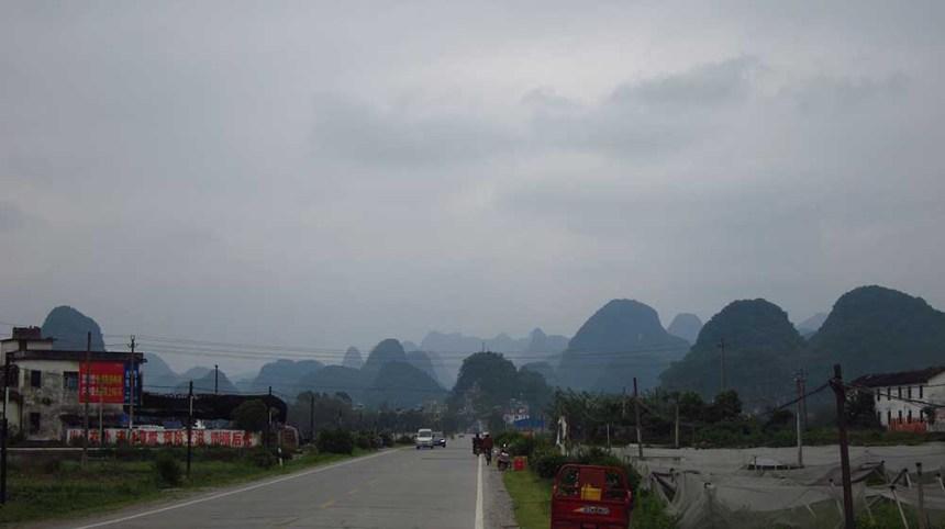 Yangshuo to Mengshan
