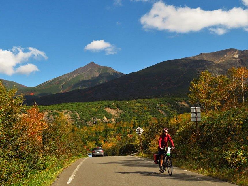 hokkaido, cycling, camping