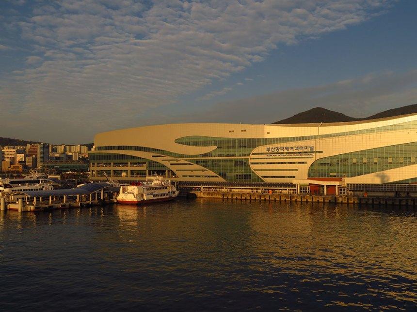 Ferry Shimonoseki to Busan, Japan to Korea