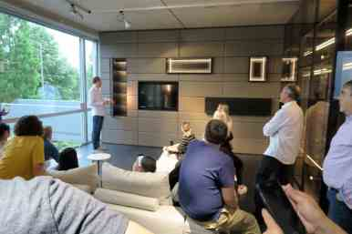 demonstrating innovations in home living solutions during the 2017 eggersmann german kitchen cabinet factory tour exploring hiddenhausen