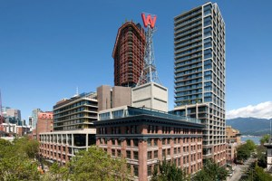 the woodwards high-rise residential living project in vancouver canada features 564 units with eggersmann luxury kitchens