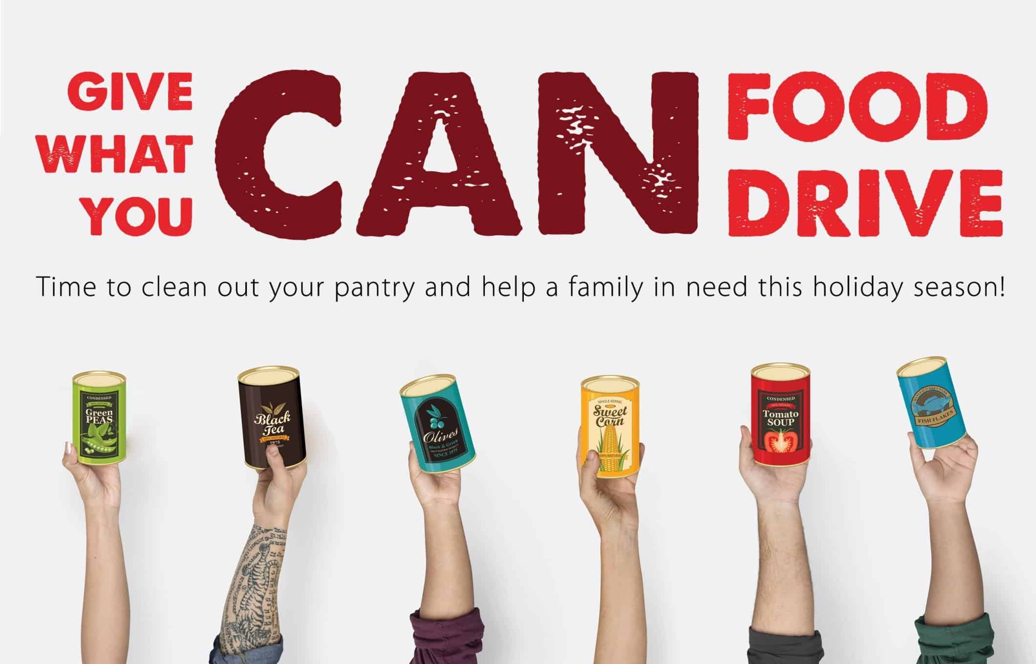 give what you can food drive