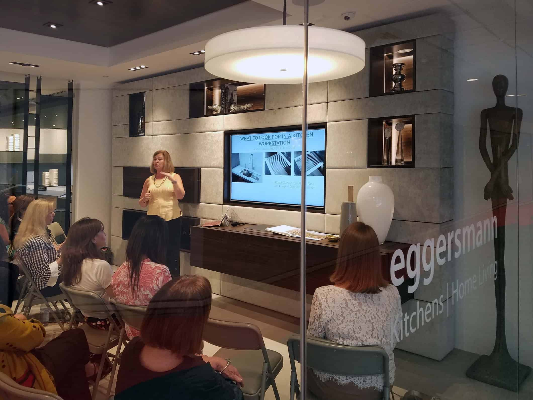 the galley CEU at eggersmann Florida