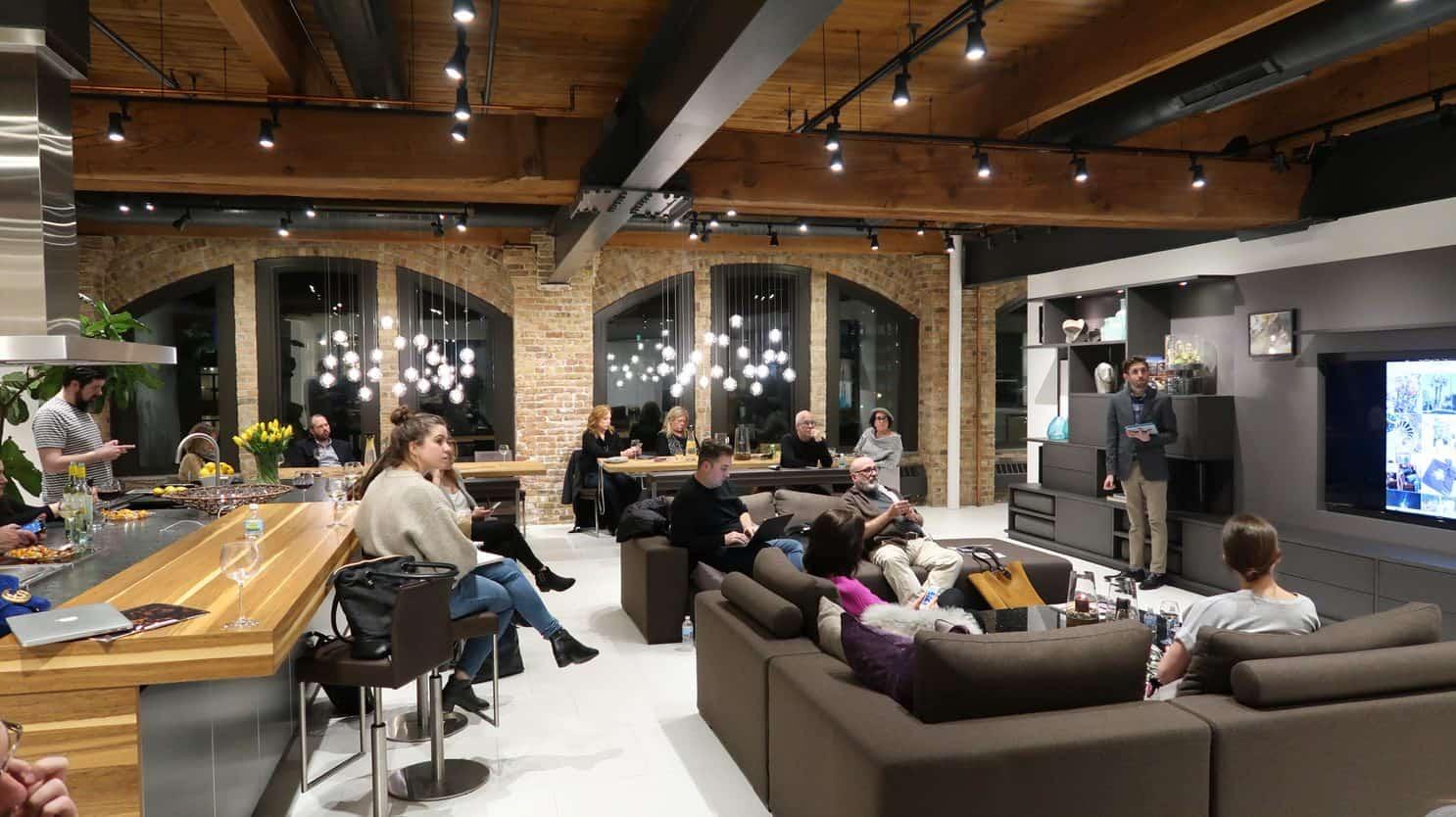 Instagram for Business Workshop at eggersmann Chicago