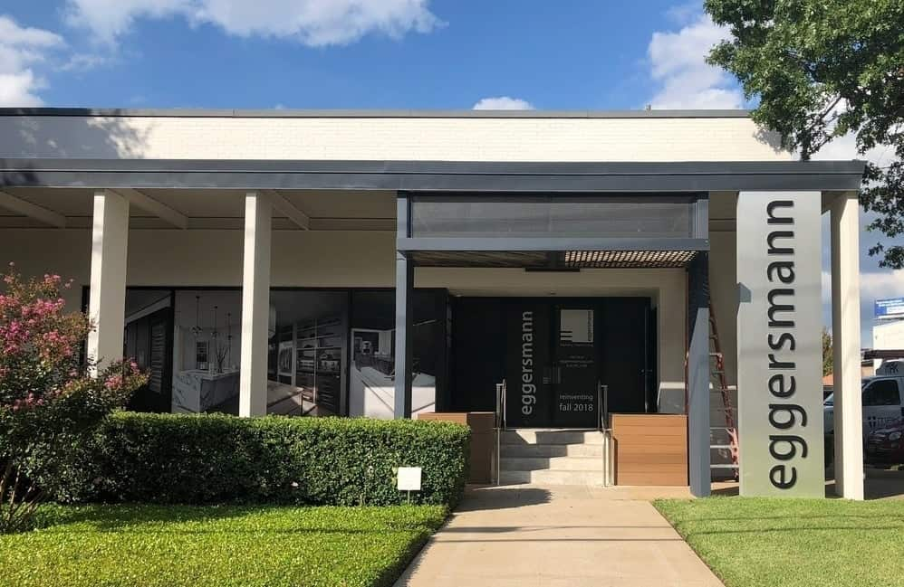 dallas luxury kitchen showroom exterior street view