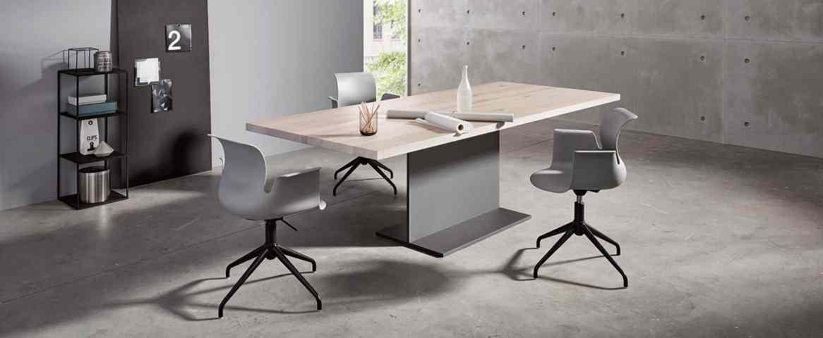 KFF holzstahl table