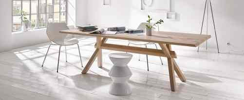 KFF solid wood table